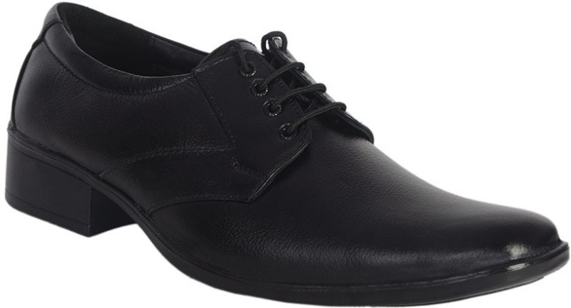 ShoeAdda Lace Up(Black)