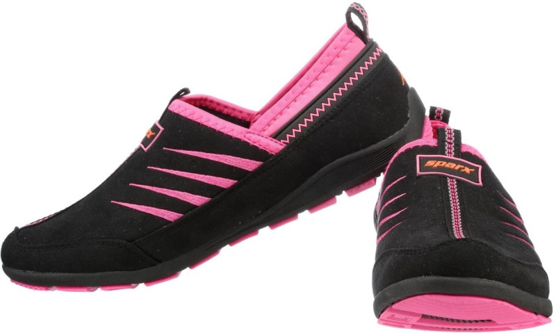 Sparx Running Shoes For Women(Black, Pink)