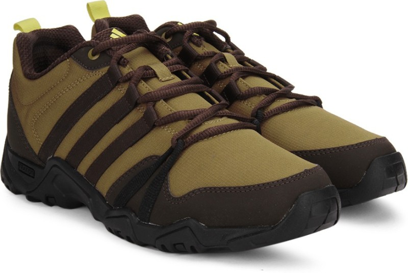 Adidas GEOCACH Outdoor Shoes For Men(Black, Brown)