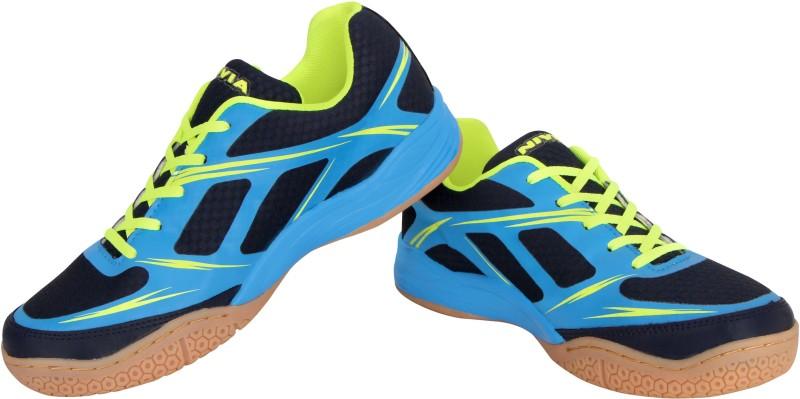 Nivia Super Court Badminton Shoes For Men(Blue)