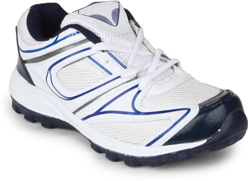 11e FINE-5115 Running Shoes For Men(White, Blue)