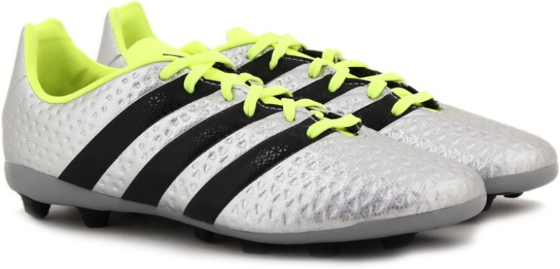 Adidas ACE 16.4 FXG J FOOTBALL/SOCCER(Silver)