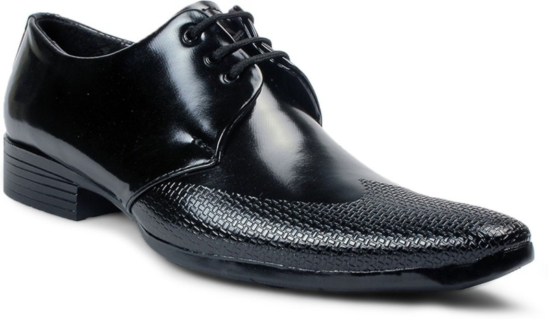 Bacca Bucci Lace Up For Men(Black)