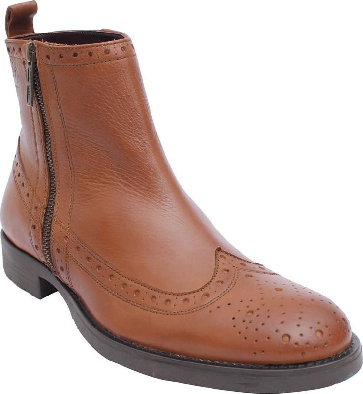 Salt N Pepper Boots For Men(Tan)