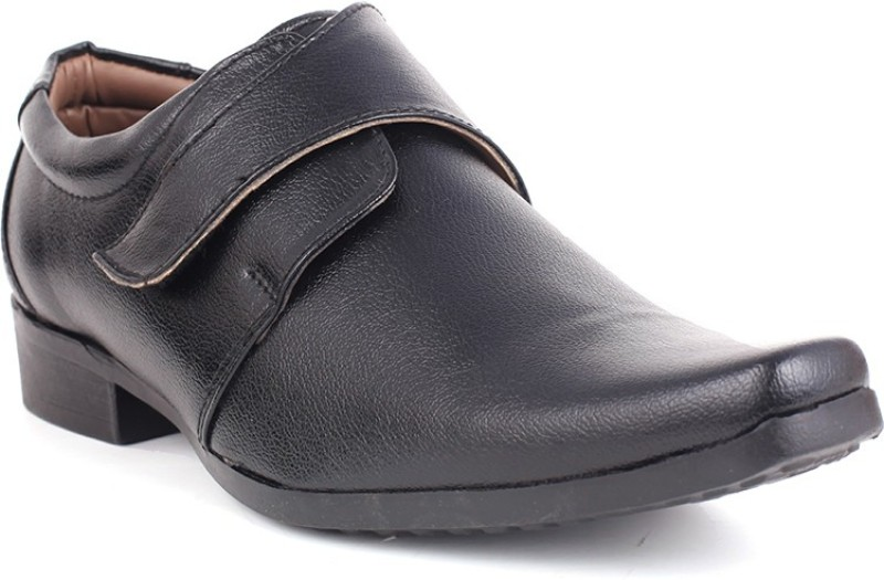 Guava Monk Strap Shoes For Men(Black)