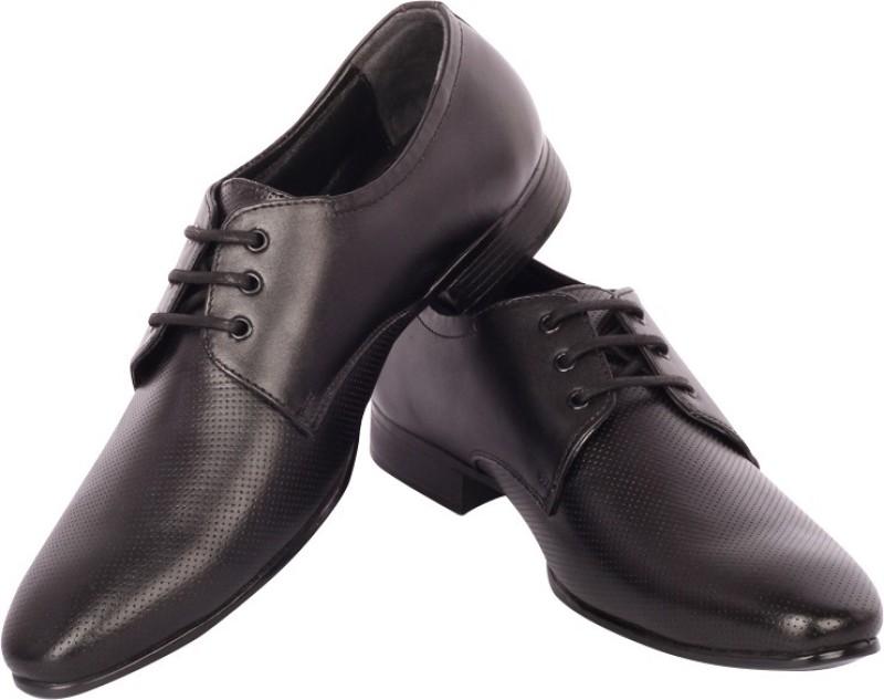 Moladz Rachel Lace Up Shoes(Black)