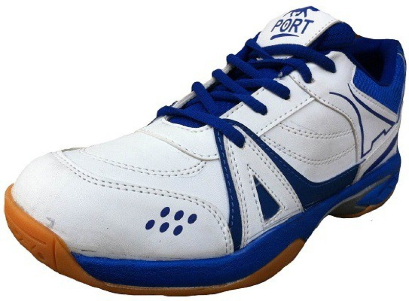 Port Activa White Sports Basketball Shoes For Men(White)