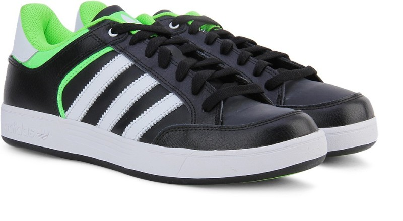 Adidas Originals VARIAL LOW Sneakers(Black, Green, White)