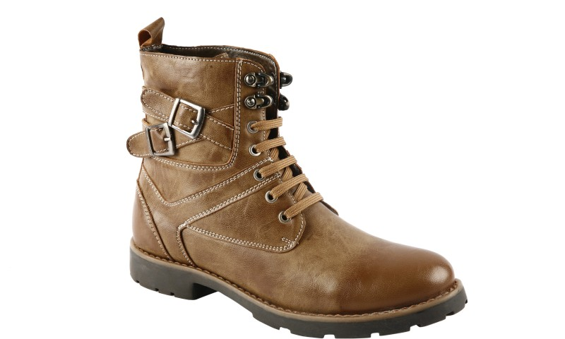 Bacca Bucci PS-1030 Boots For Men(Tan)
