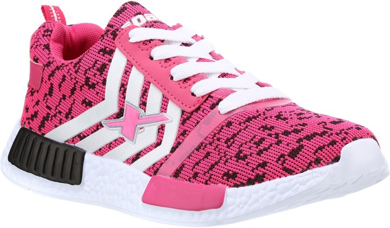 Sparx Stylish Black & Pink Running Shoes For Women(Black, Pink)