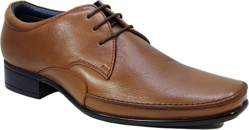 Egoss Men Tan Formal Lace Up For Men(Tan)