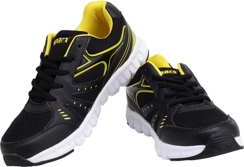 Sparx Trendy Black Yellow Running Shoes(Black, Yellow)