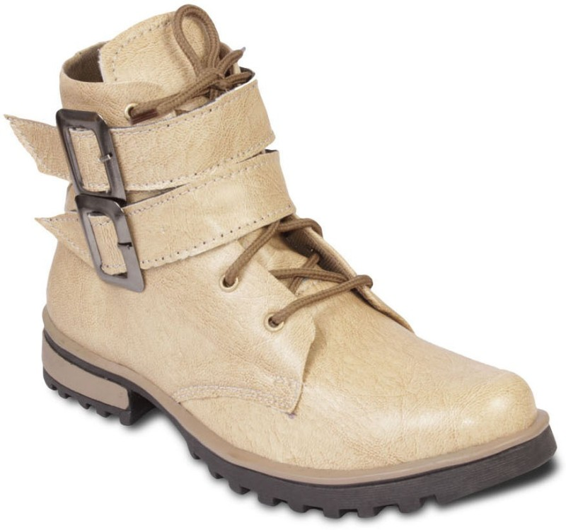 TEN Stylish And Elegant Boots For Men(Beige)
