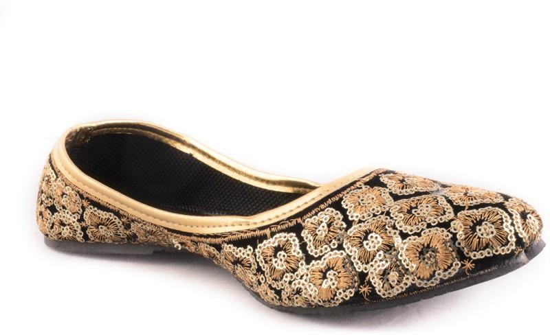 Adorn Elegant and Trendy Women's Loafers For Women(37, Orange) image