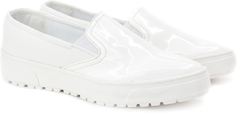 Knotty Derby Loafers For Women(White)
