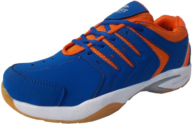 Port Quad Badminton Shoes(Blue)