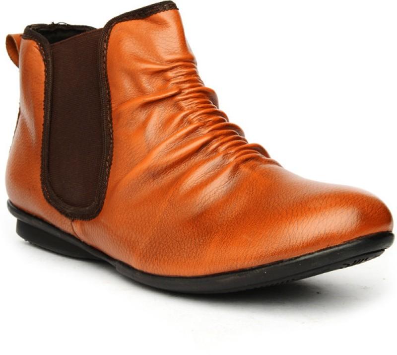 Bruno Manetti Autouie Boots For Women(Tan)