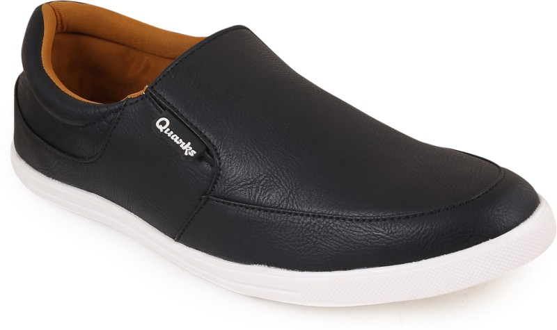 Quarks Casual Loafers Loafers For Men(Black)