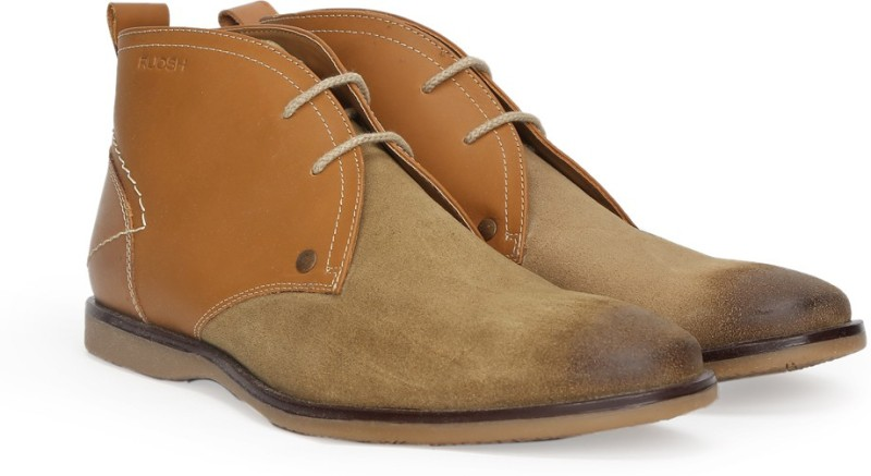 Ruosh Boots For Men(Tan, Brown)