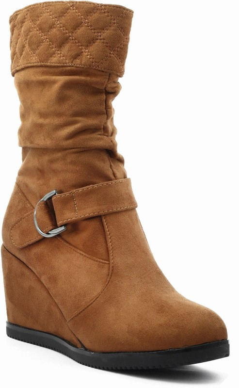 Shuberry Boots For Women(Tan)