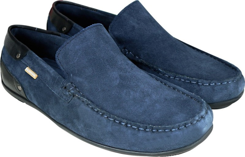 U.S. Polo Assn SUEDE DRIVER loafers For Men(Navy)