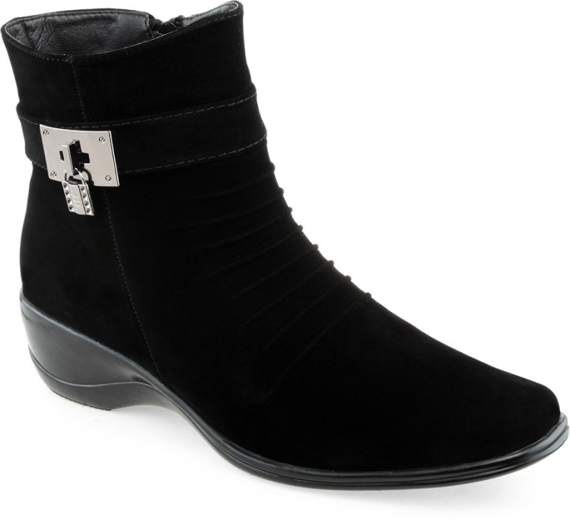 Shuz Touch Women's Boots For Women(40, Black) image