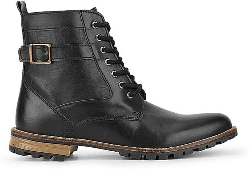 Knotty Derby Diggory Boots For Men(Black)