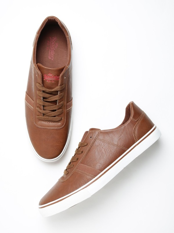 Roadster Sneakers For Men(Tan)