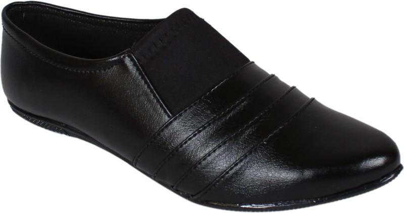 Footshez Women's Bellies shoe For Women(40, Black) image