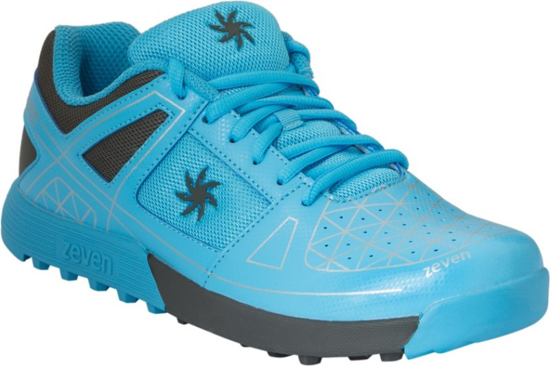 Zeven Cricket Shoes For Men(Blue, Black)