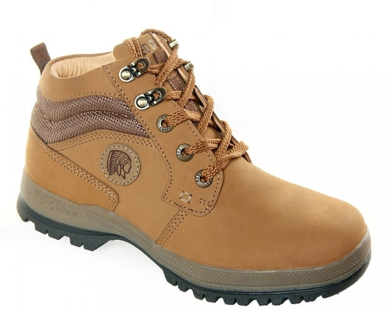Red Chief RC2501 Boots For Men(Beige)