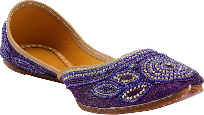 Myra Embroidery Women's Loafers For Women(5, Multicolor) image