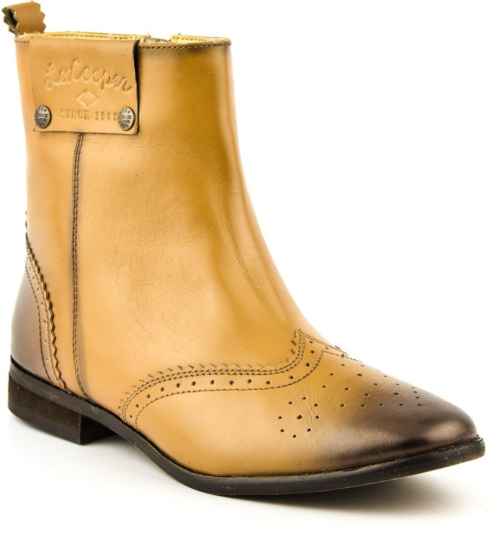 Lee Cooper Women Boots For Women(Tan)