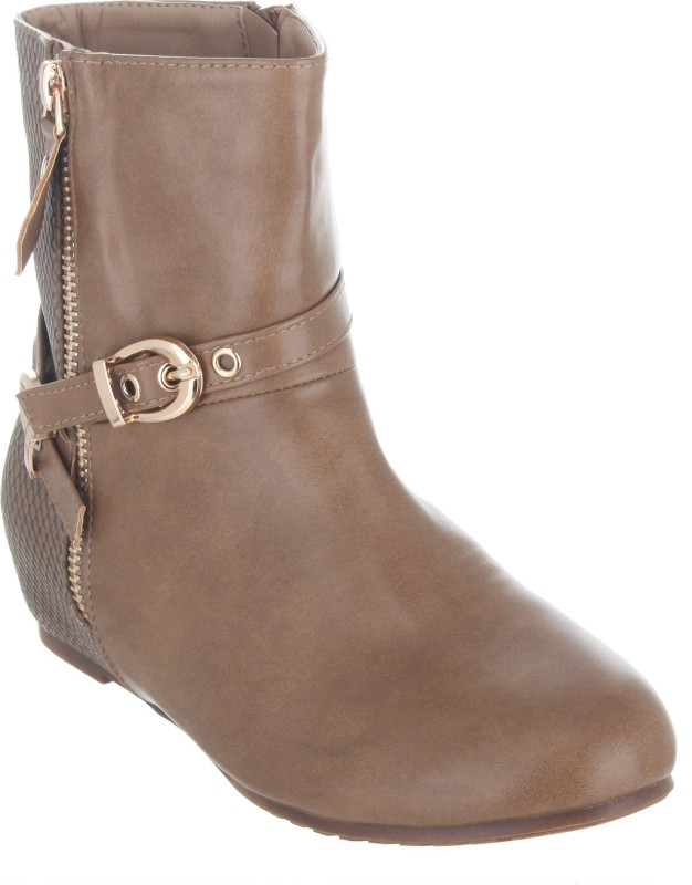 Shuz Touch Boots For Women(Beige)