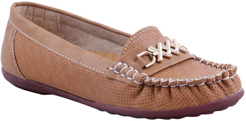 Adorn New Look Loafers(Tan) New Look