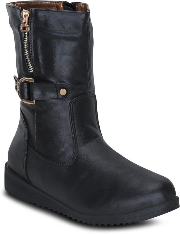 Get Glamr HONOR Boots For Women(Black)
