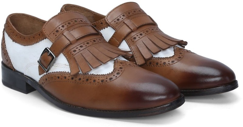 Brune Monk Strap For Men(Tan)