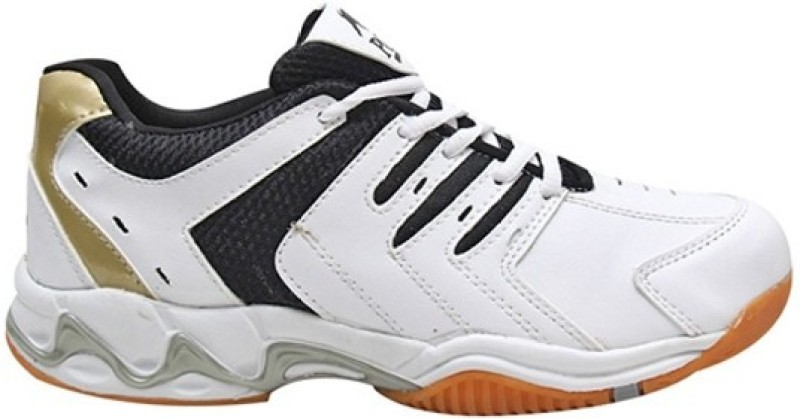 Aryans Sparky Badminton Shoes, Tennis Shoes(White)