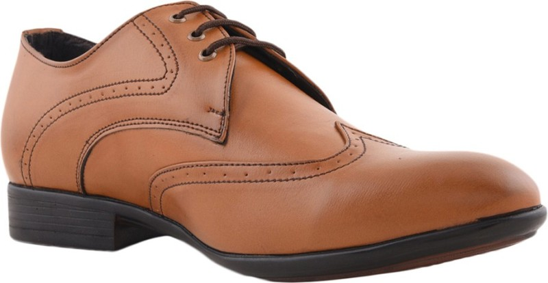 Bruno Manetti 8335 Lace Up For Men(Tan)