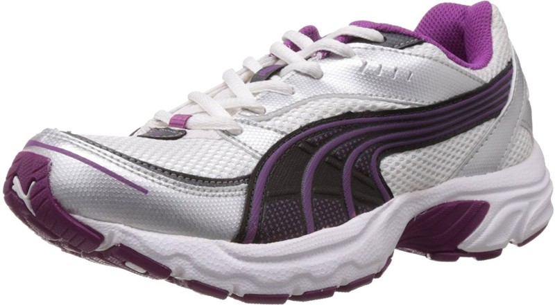 Puma Axis II Wn's IDP Running Shoes For Women(Purple, Silver)