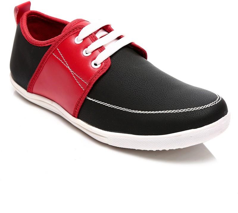 Juan David Sneakers For Men(Black, Red)
