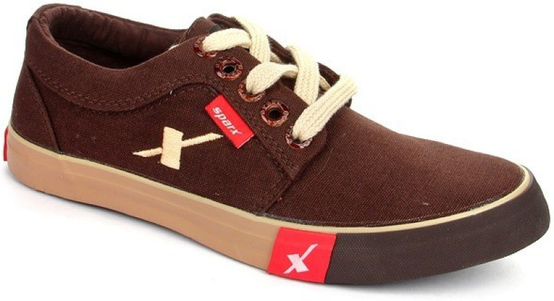 Sparx Sporty Canvas Shoes(Brown)