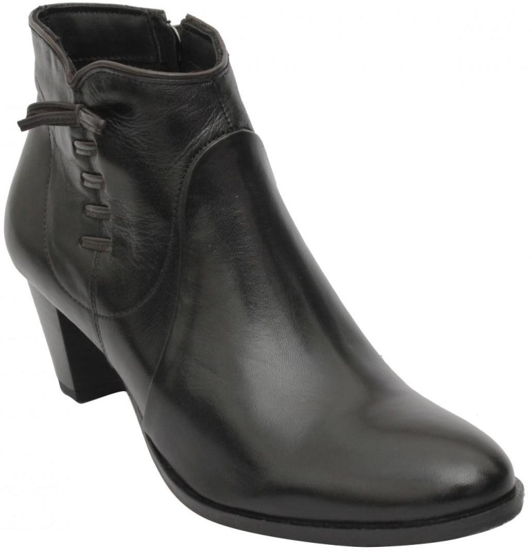 Salt N Pepper Women's Boots For Women(39, Black) image