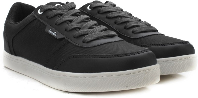 United Colors of Benetton Men Sneakers For Men(Black)