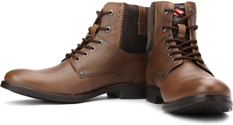 Lee Cooper Men Boots For Men(Tan)