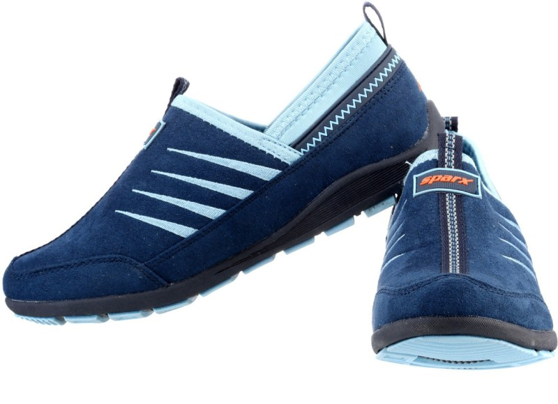 Sparx Stylish Navy Blue Royal Blue Canvas ShoesNav