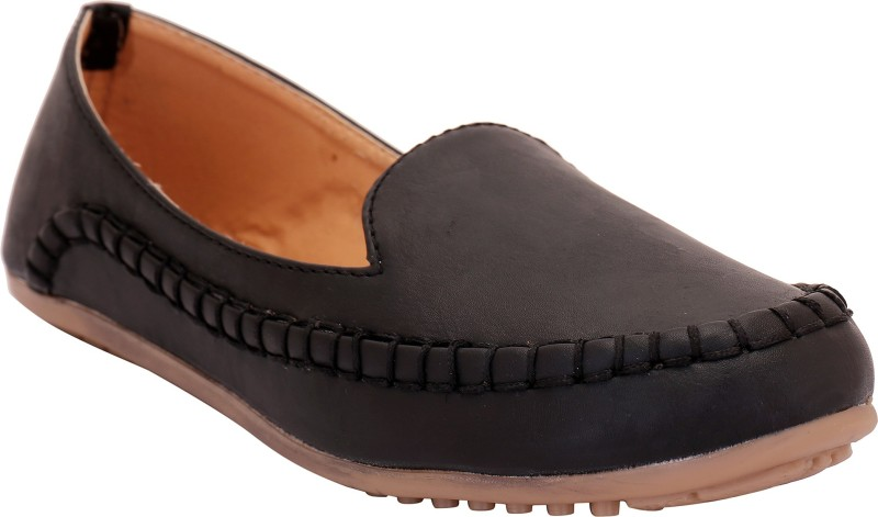 Trotters Loafers For Women(Black)