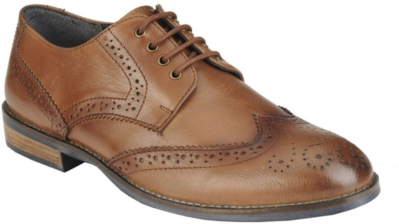 Delize 27073-Tan Lace Up Shoes(Tan)