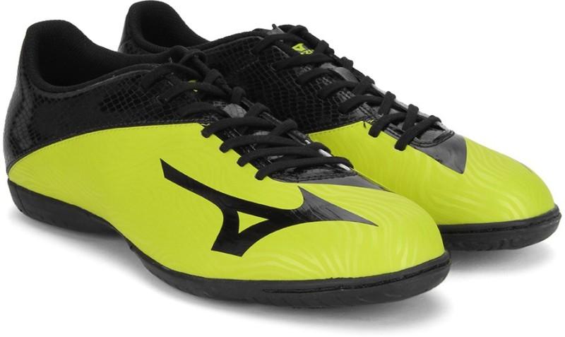 Mizuno BASARA 103 IN Football Shoes For Men(Black, Yellow)