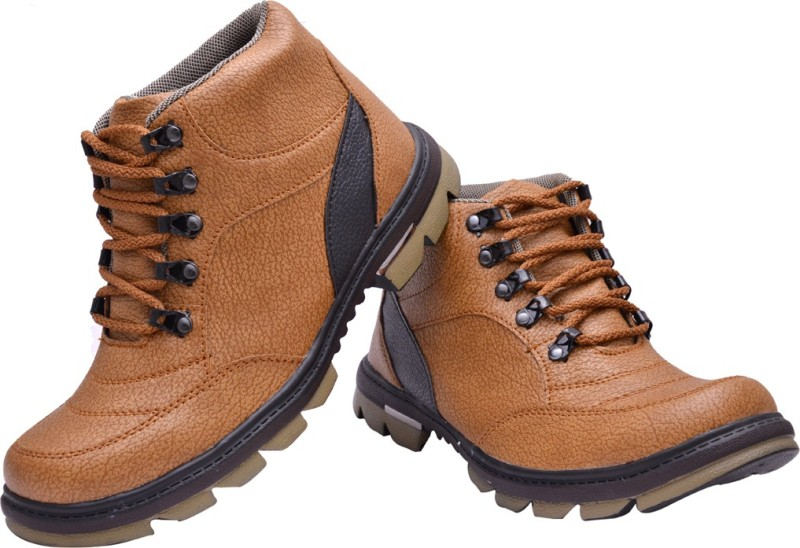Prolific X-Power Sole Boots For Men(Tan)